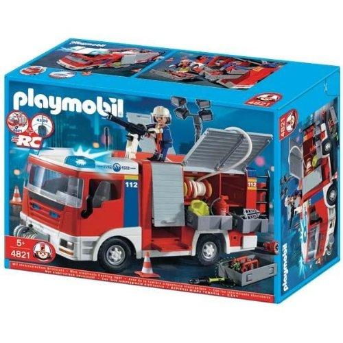 Histoire playmobil pompier