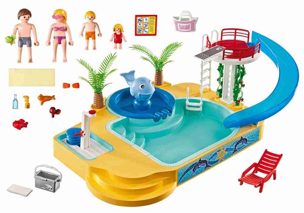 Playmobil piscine baleine