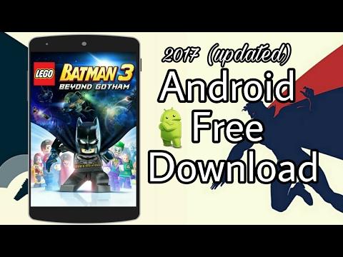 Lego batman gratuit android