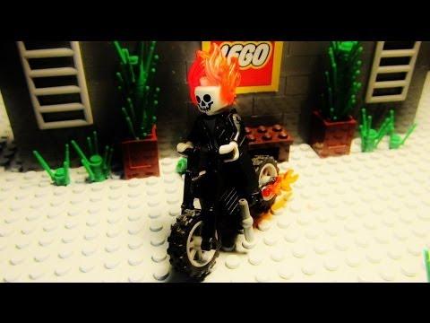 Lego ghost rider vs angel rider