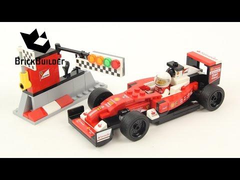 Lego ferrari speed build