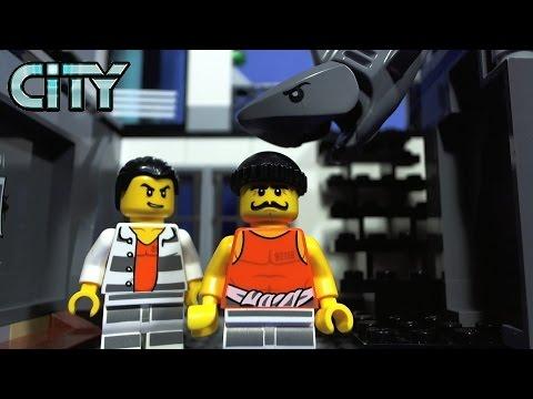 Lego city prison island youtube