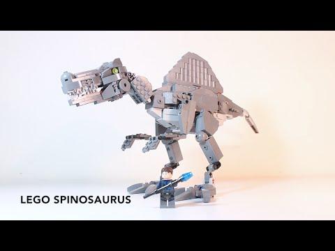 Lego indominus rex brick built
