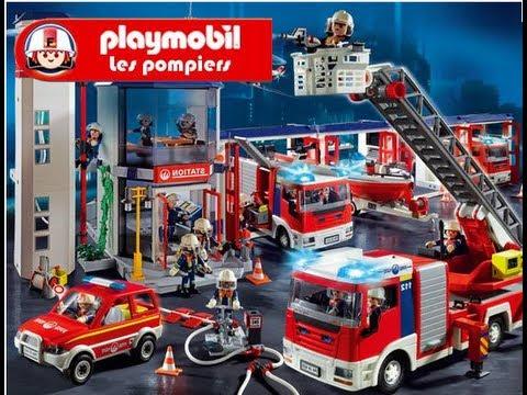 Playmobil pompier nouveau