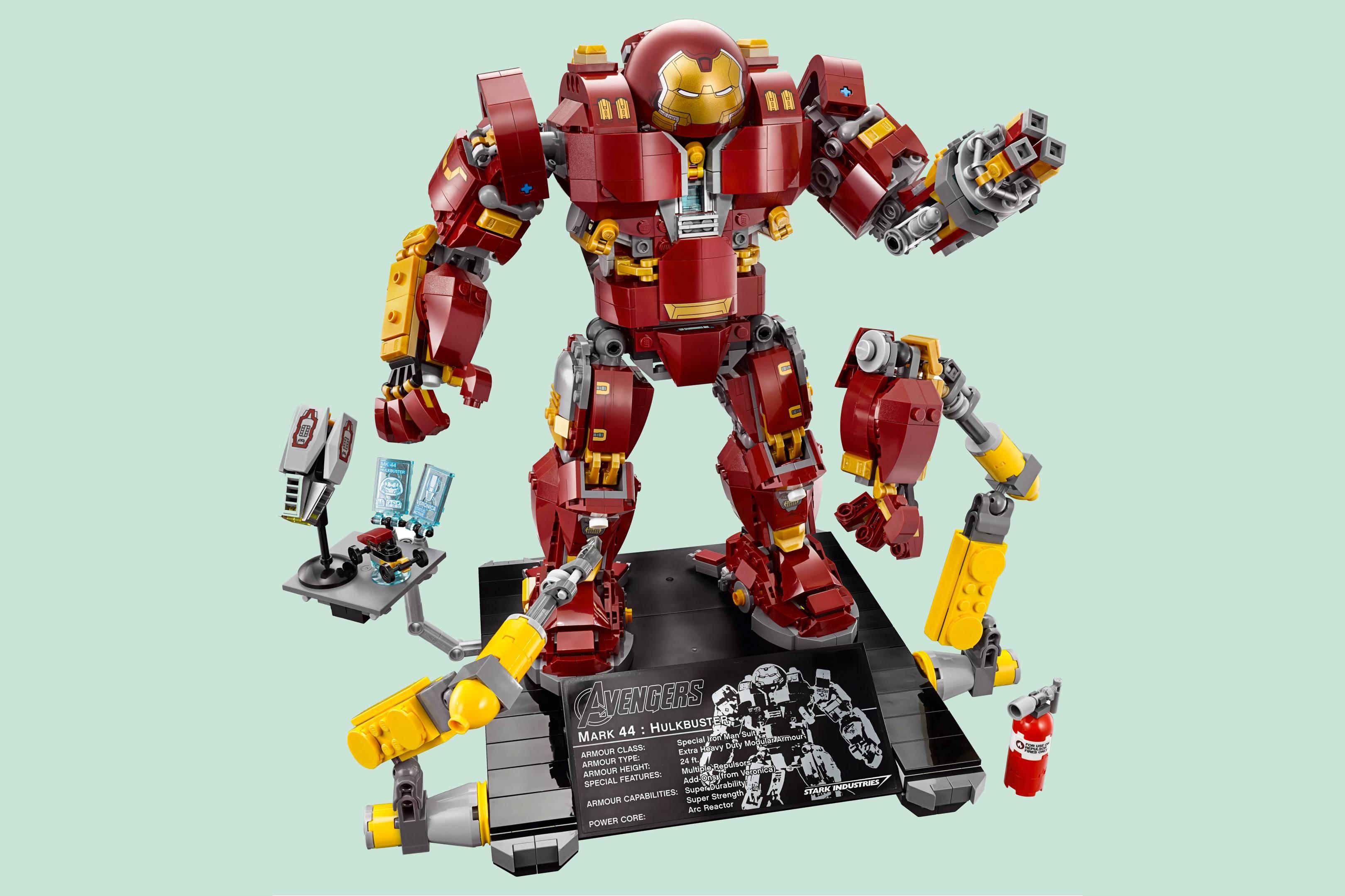 Lego hulkbuster videos