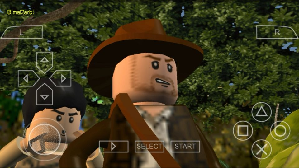 Lego indiana jones emulator