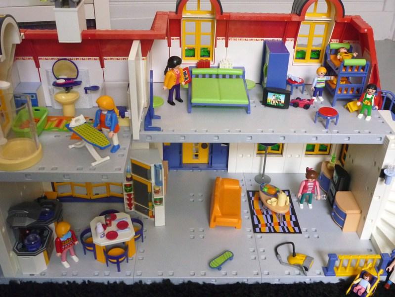 Maison moderne wohnhaus playmobil