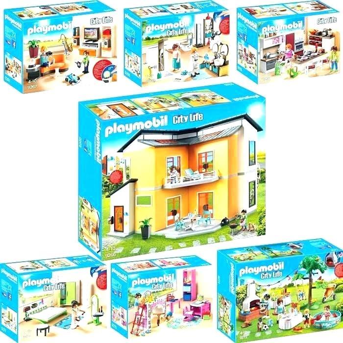 Playmobil Maison Moderne Auchan