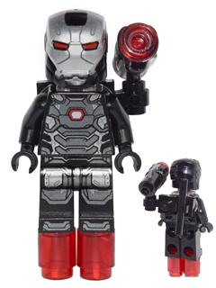 Lego iron man war machine minifigure