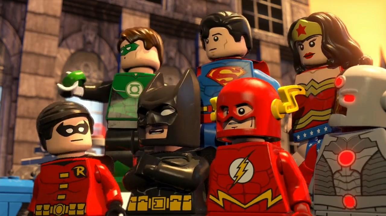 Lego film dc
