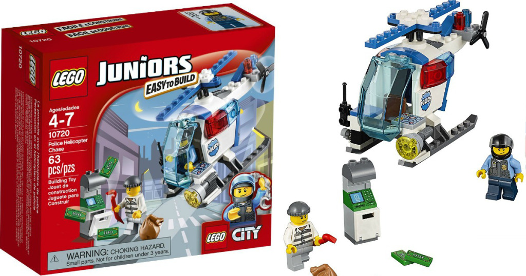 Lego junior police helicopter
