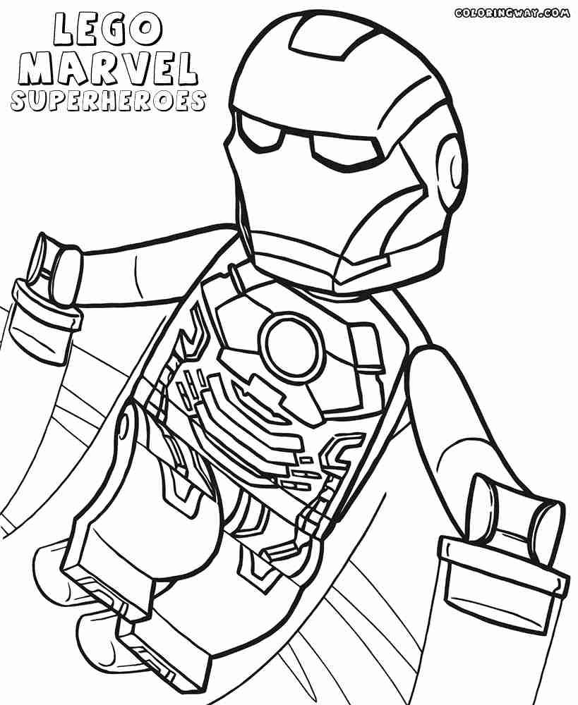 Kleurplaten Iron Man 3.Lego Iron Man Kleurplaat Zagafrica Fr