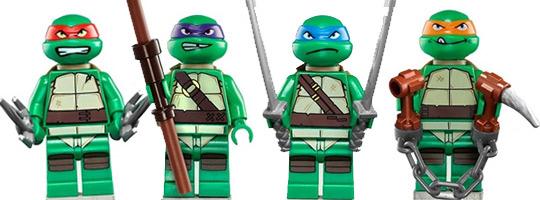 Lego junior tortue ninja