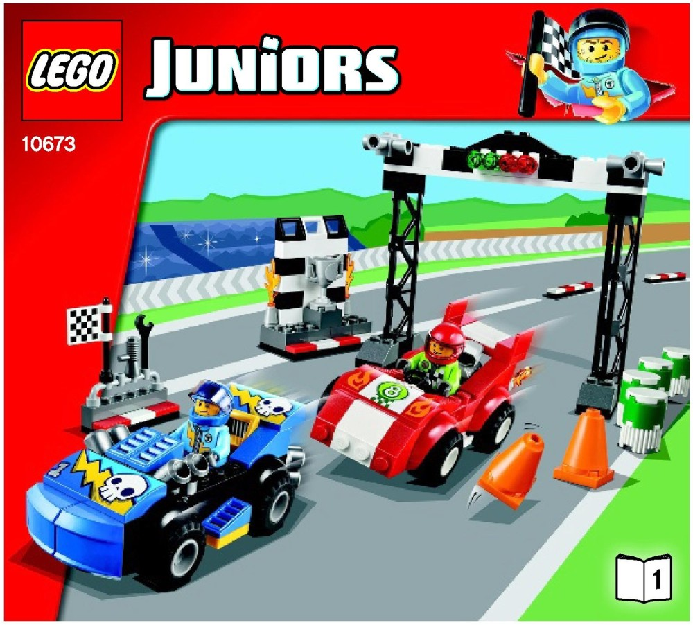 Lego junior instructions cars