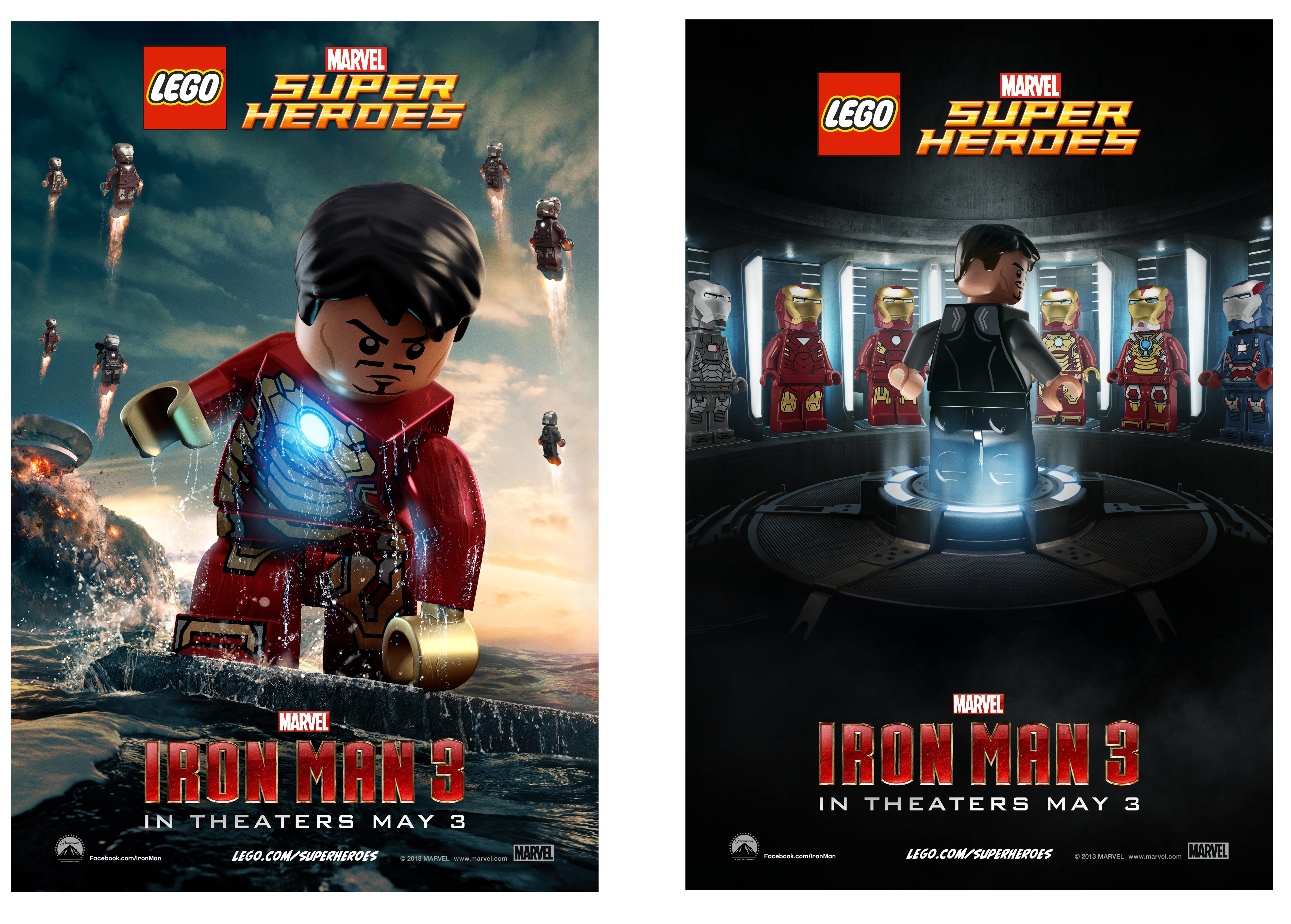 Lego avengers iron man 3