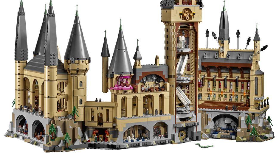 Lego harry potter video game hogwarts castle