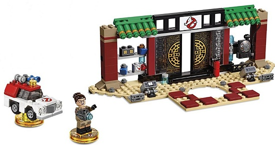 Lego dimensions ghostbusters 2016 not working