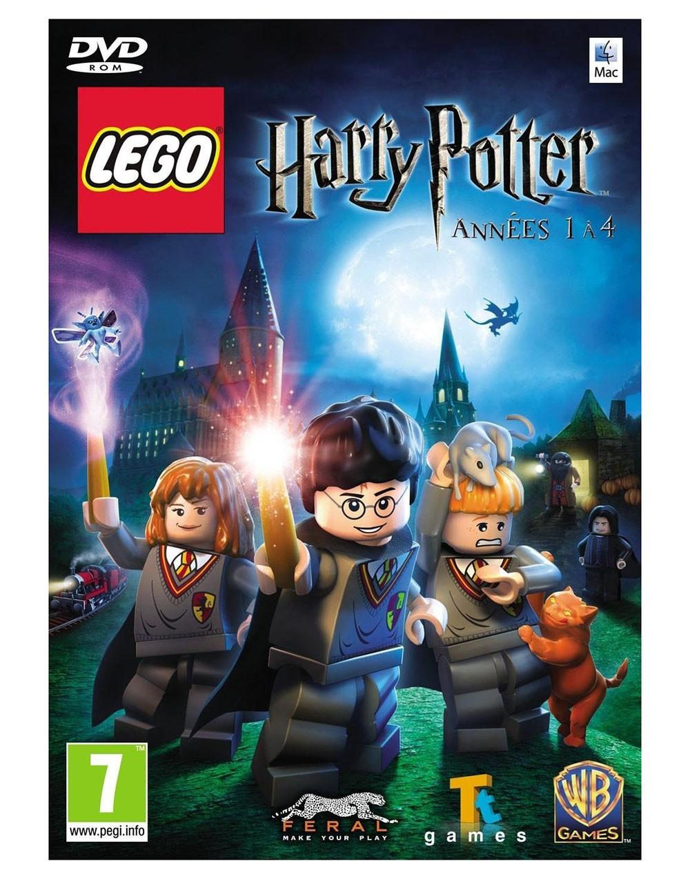 Lego harry potter années 1 à 4 mac
