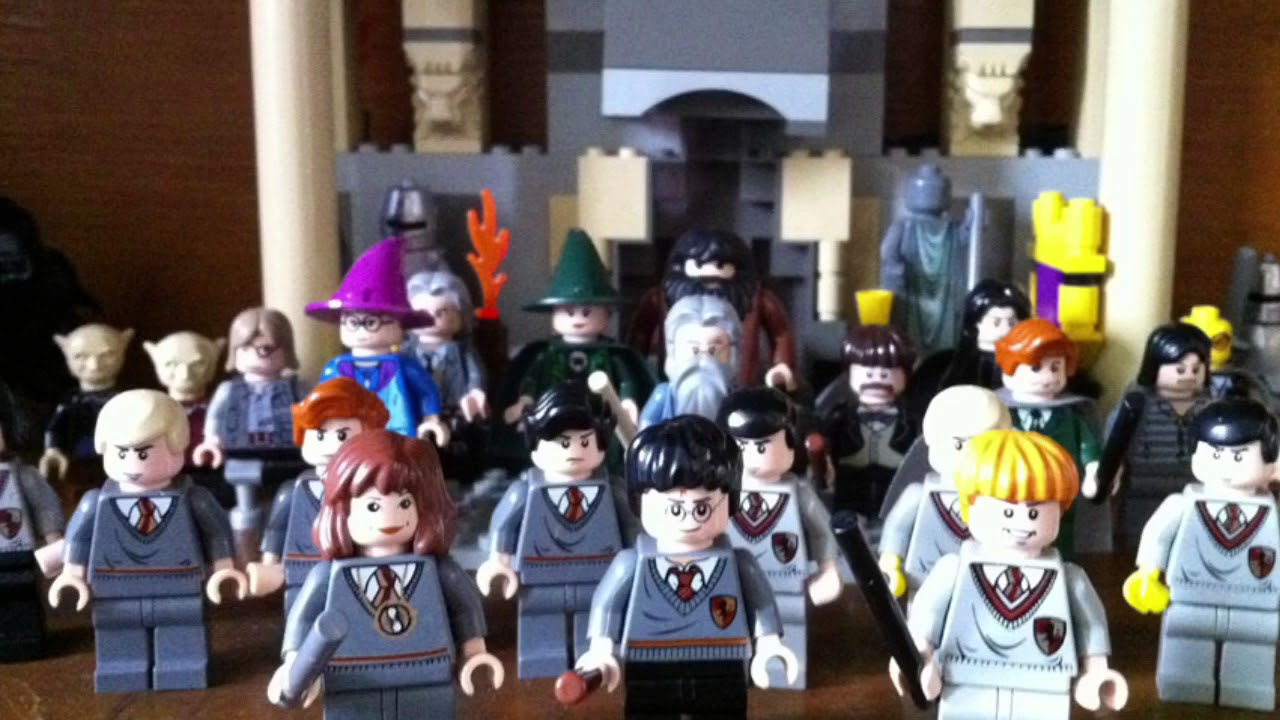 Harry potter lego figures 2018 who is who