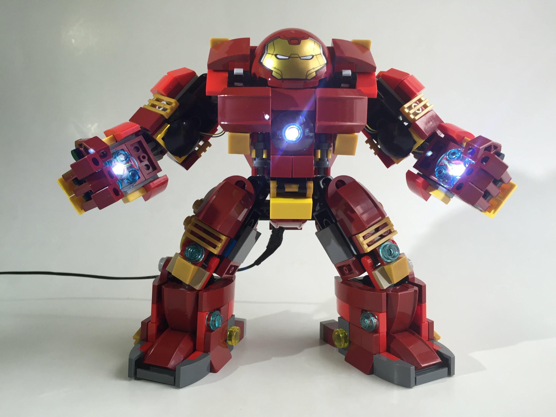 Lego hulkbuster modification