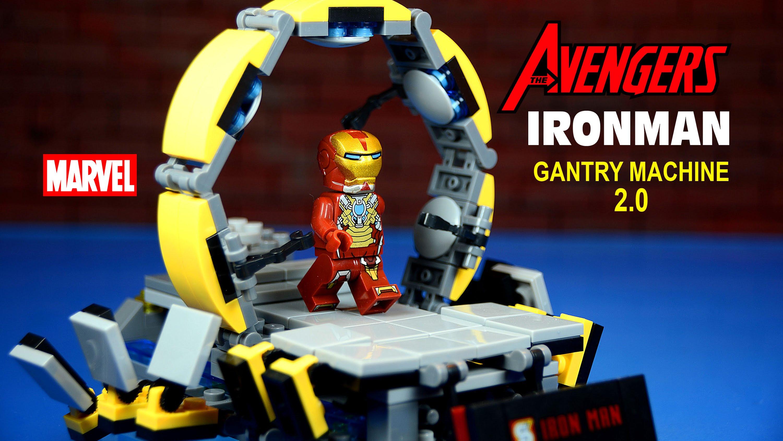 Lego iron man suit up