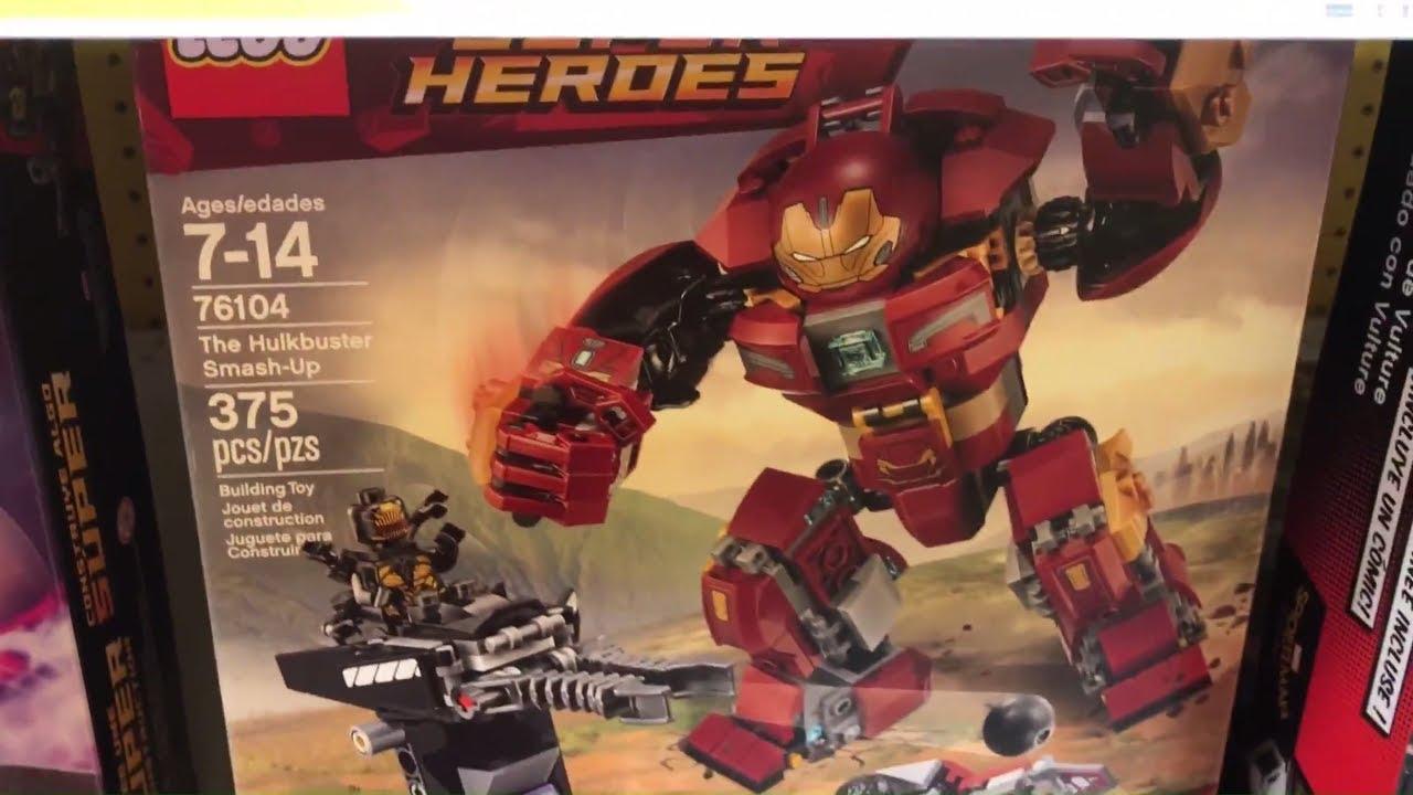 Lego infinity war minifigures toys r us