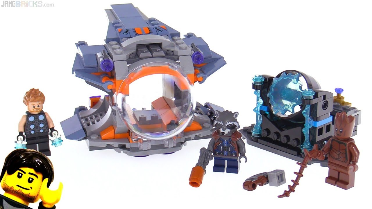 Lego infinity war thor's quest
