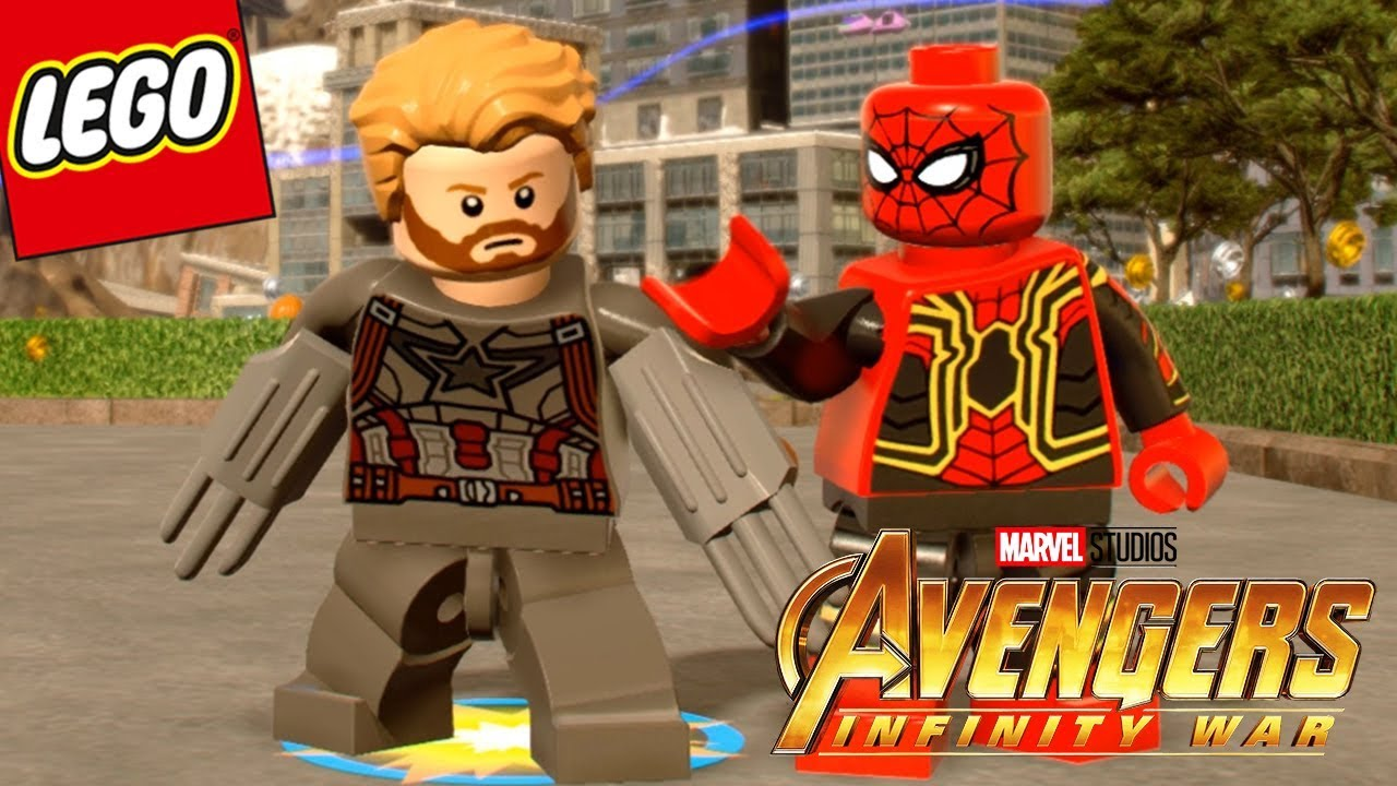 Lego marvel vengadores infinity war