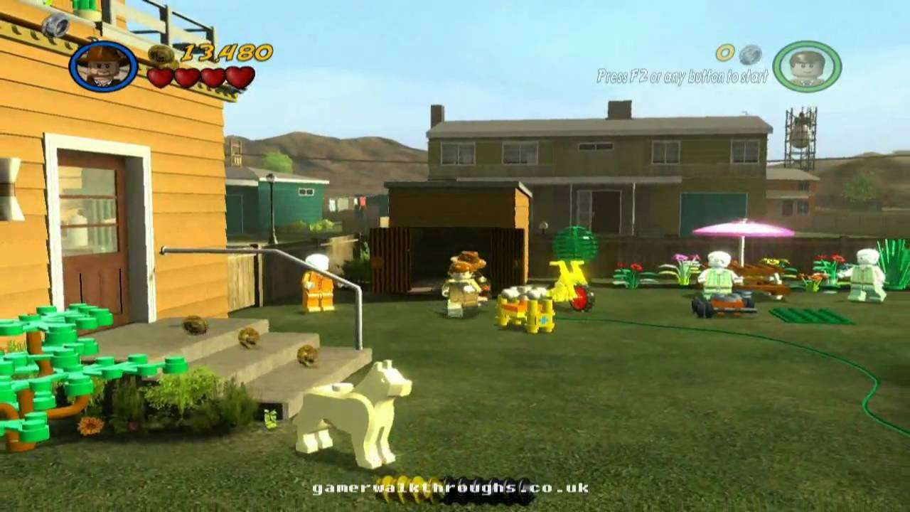 Lego indiana jones 2 xbox 360 test