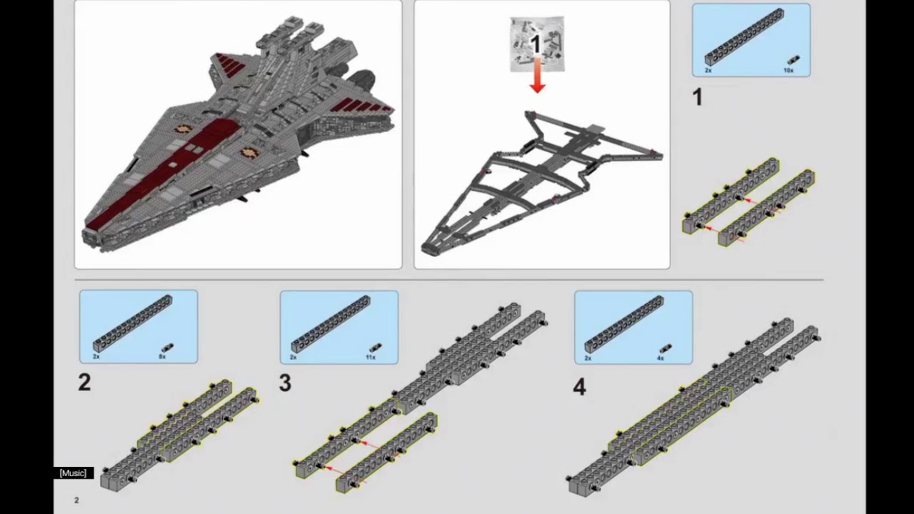 Lego venator ucs instructions