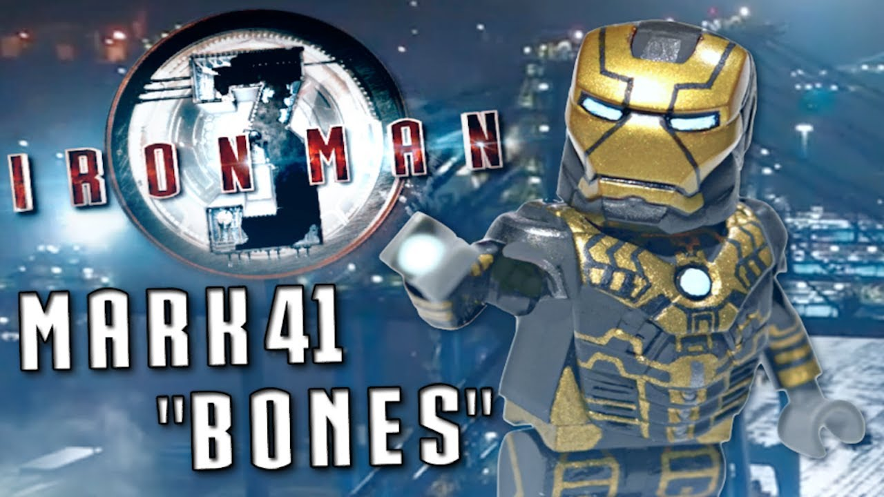 Code for lego iron man 3