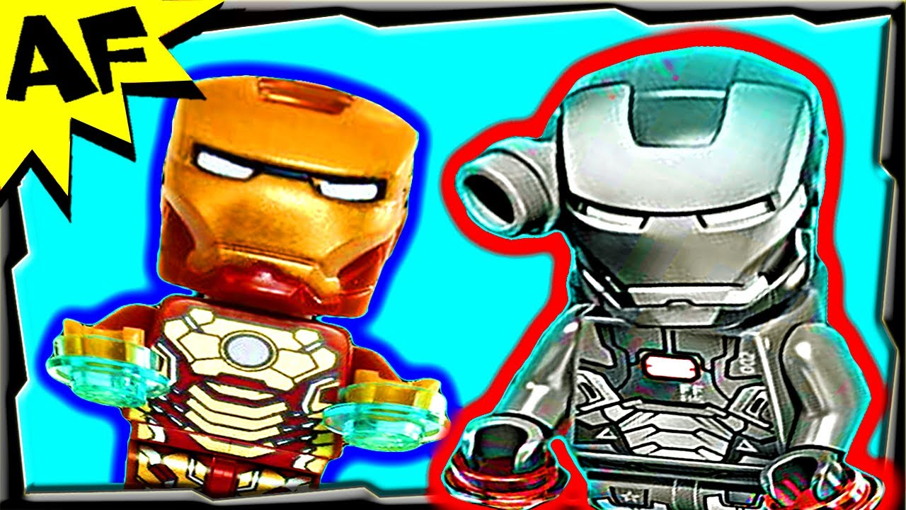 Lego iron man 3 sea port battle