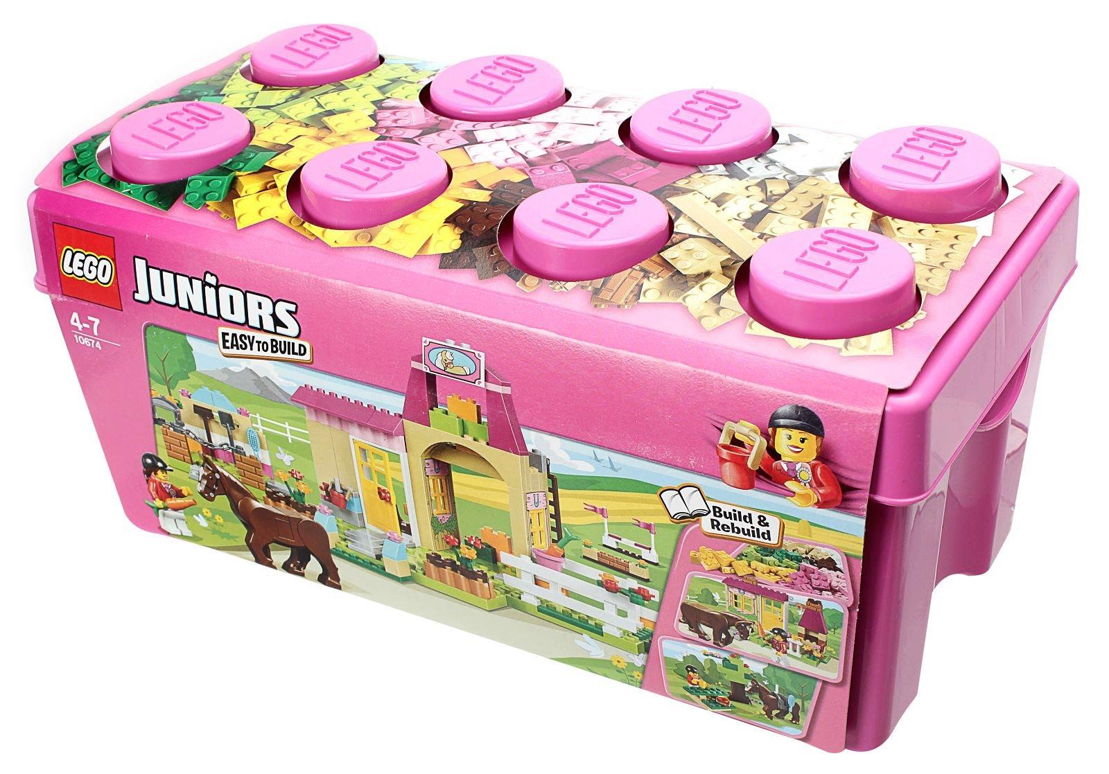 Lego junior vs classic