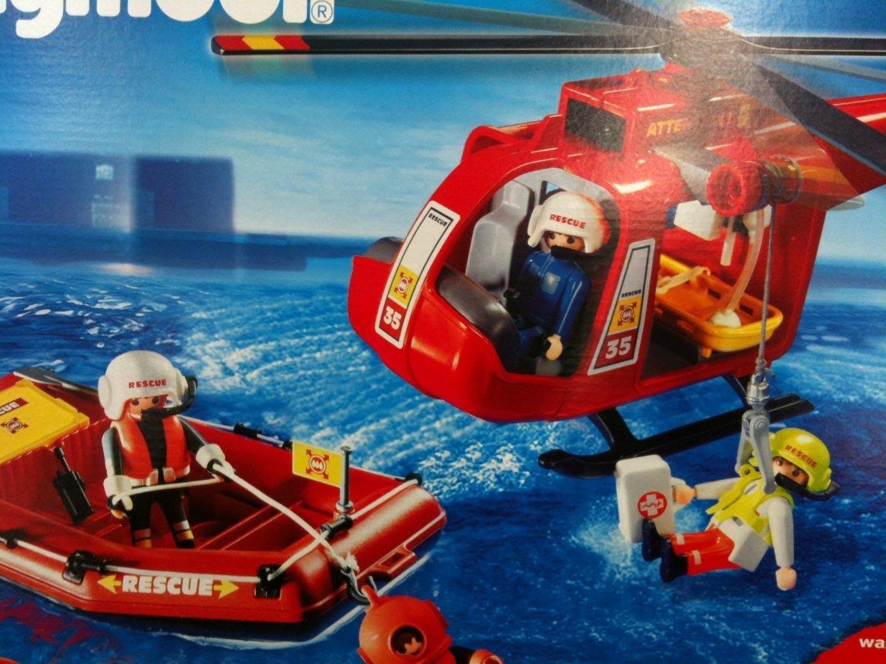 Playmobil pompier hopital