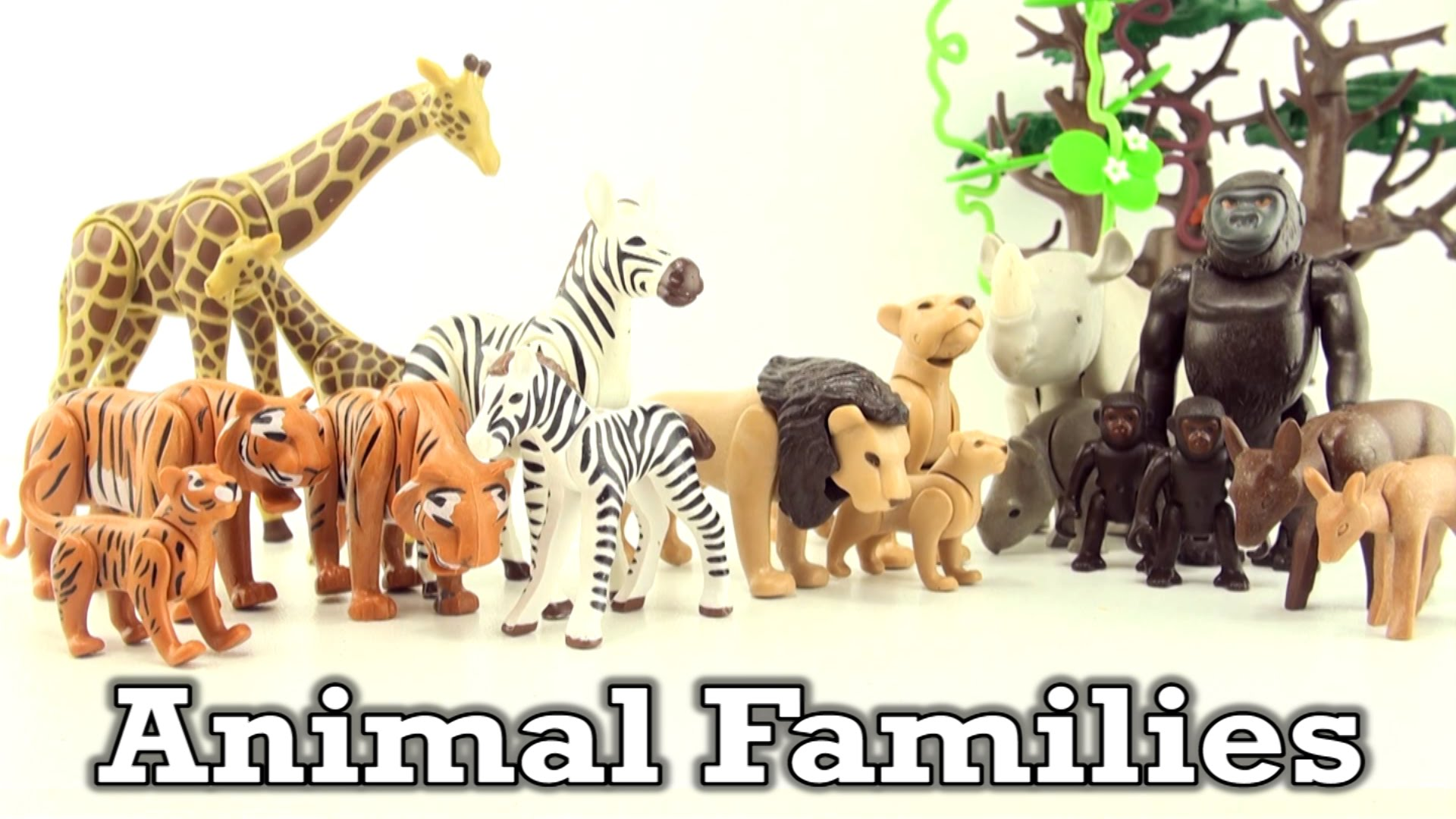 Playmobil city life animaux