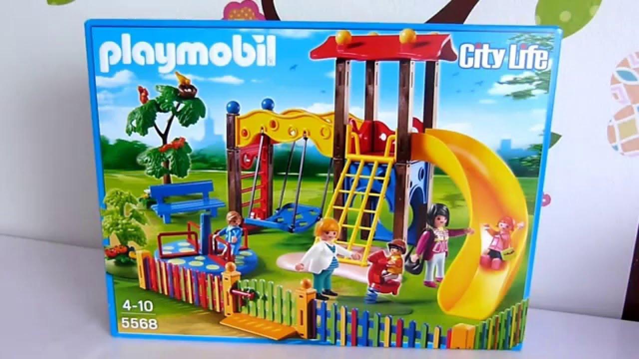 Playmobil city life preschool