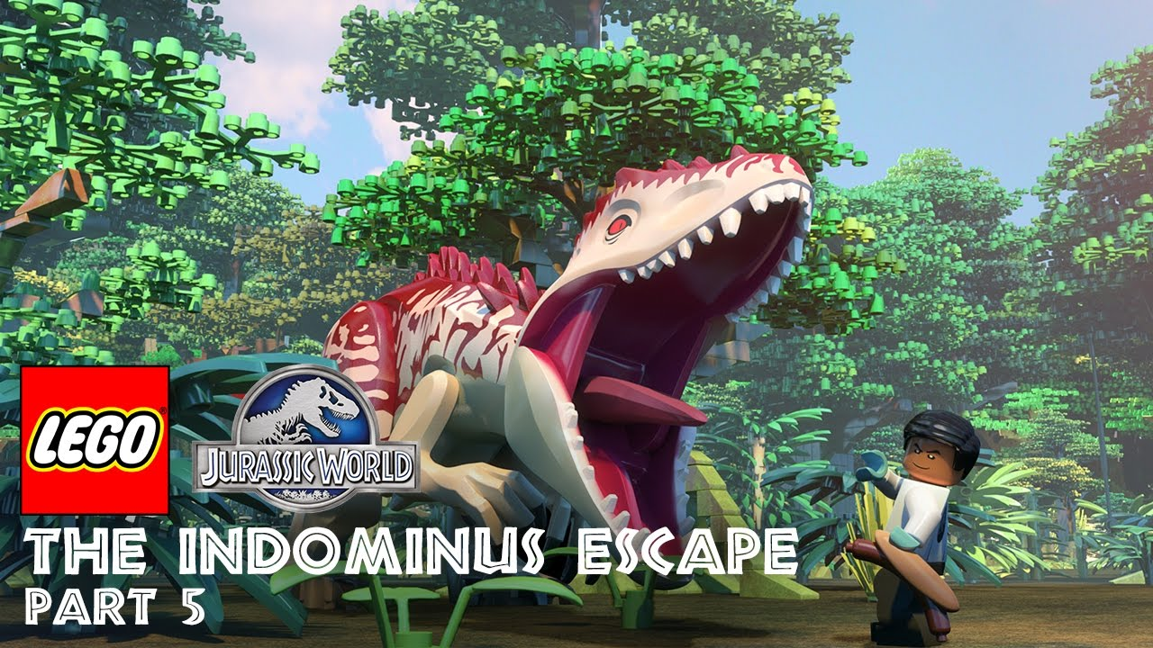 Lego jurassic world indominus escape 2
