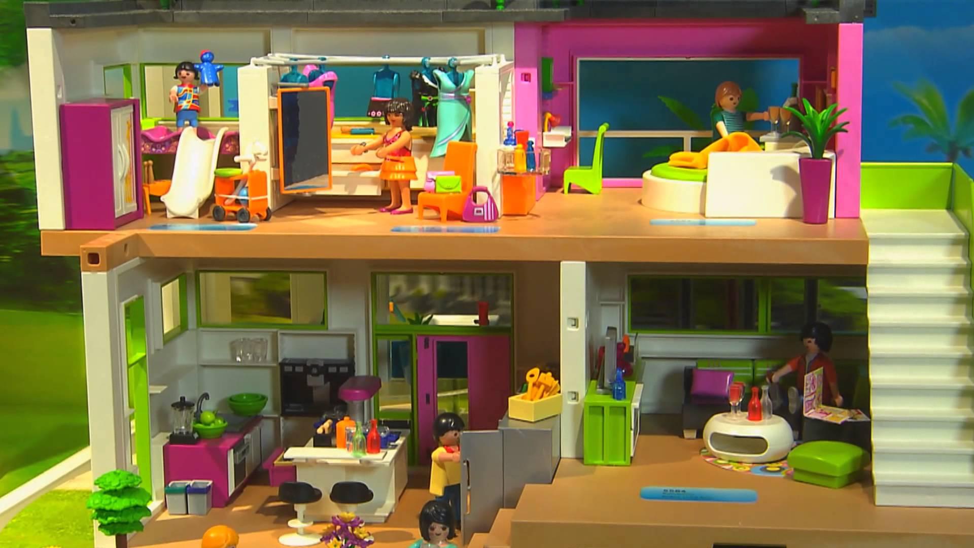 Maison playmobil moderne photo - zagafrica.fr