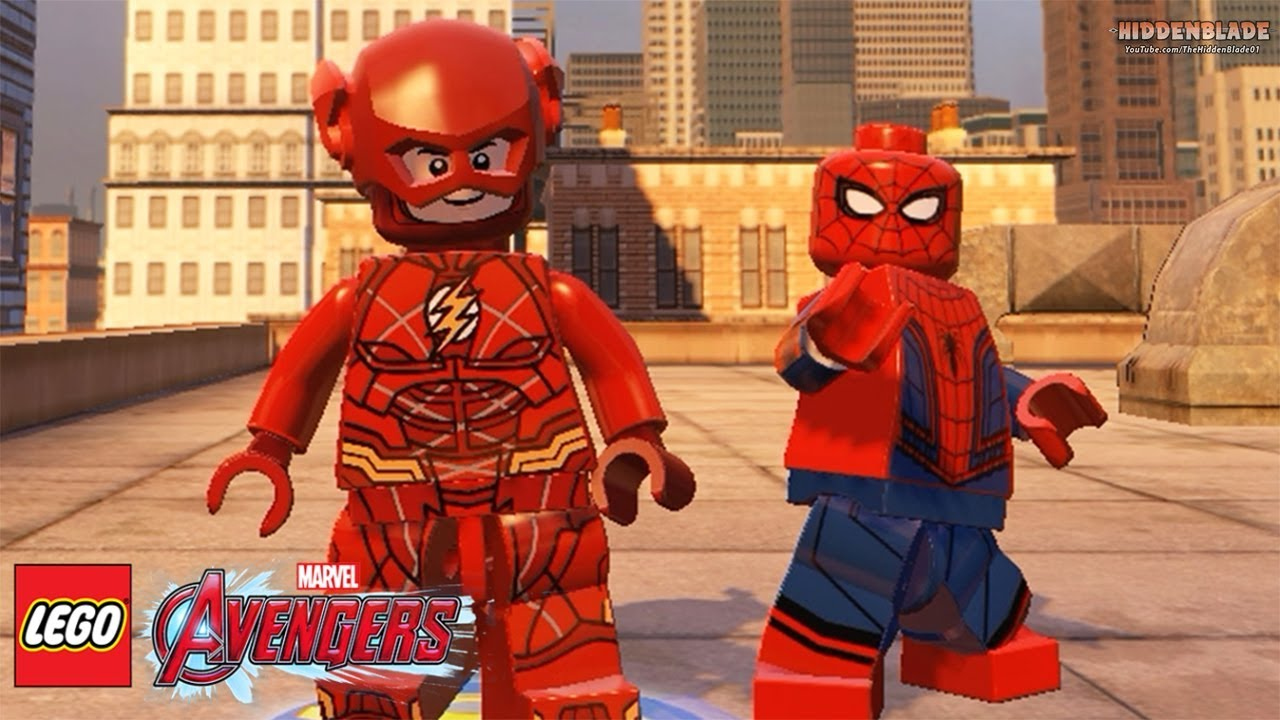 Lego justice league flash