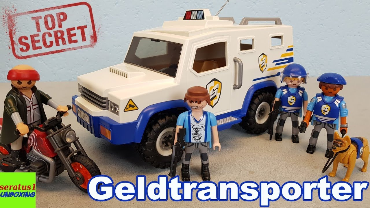 Playmobil city action geldtransport