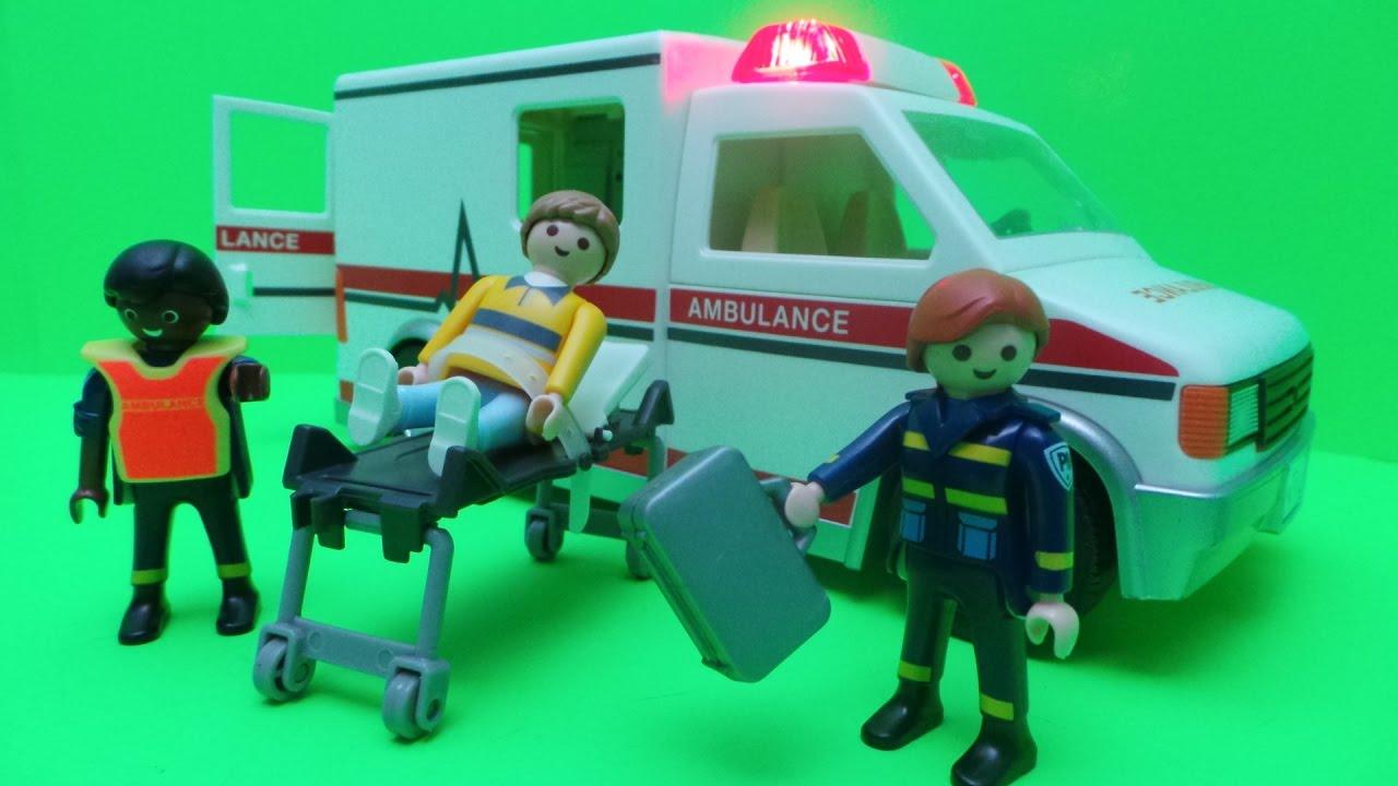 Playmobil city rescue ambulance