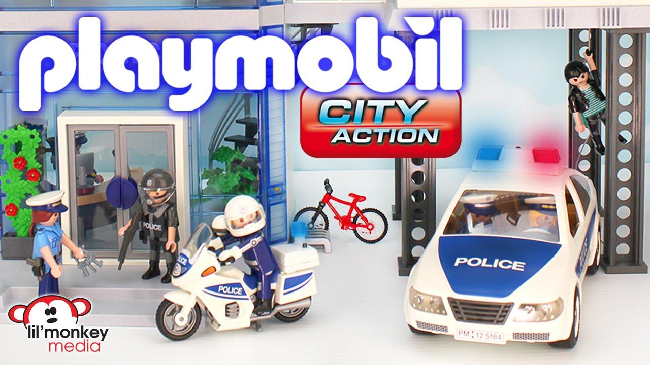 Playmobil city action hospital