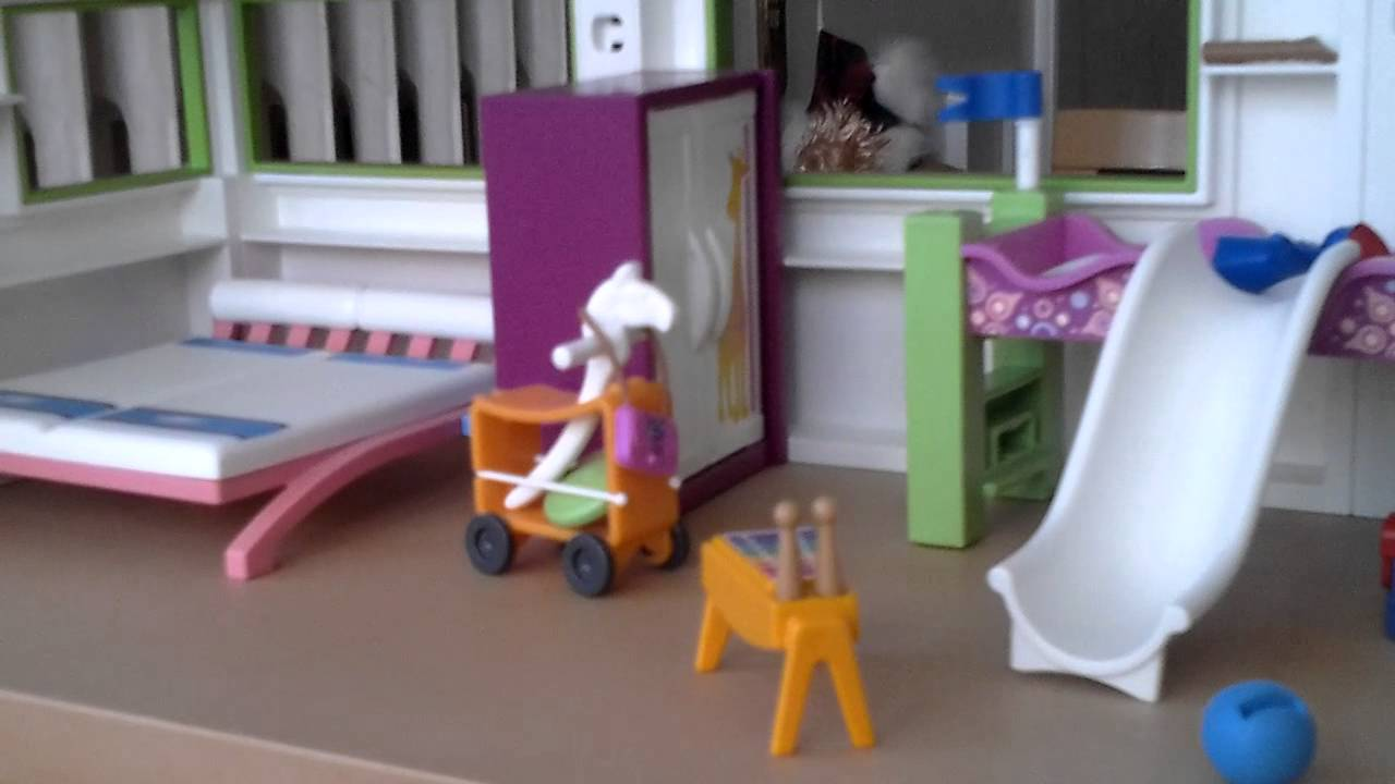 Maison playmobil meuble action