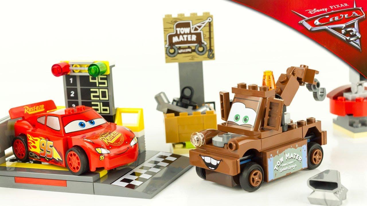 Lego propulseur flash mcqueen