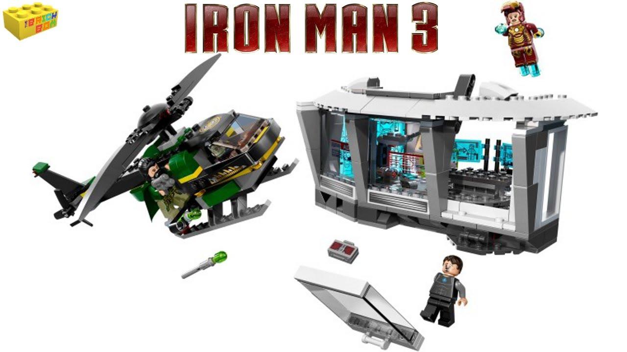 Lego iron man 3 house attack