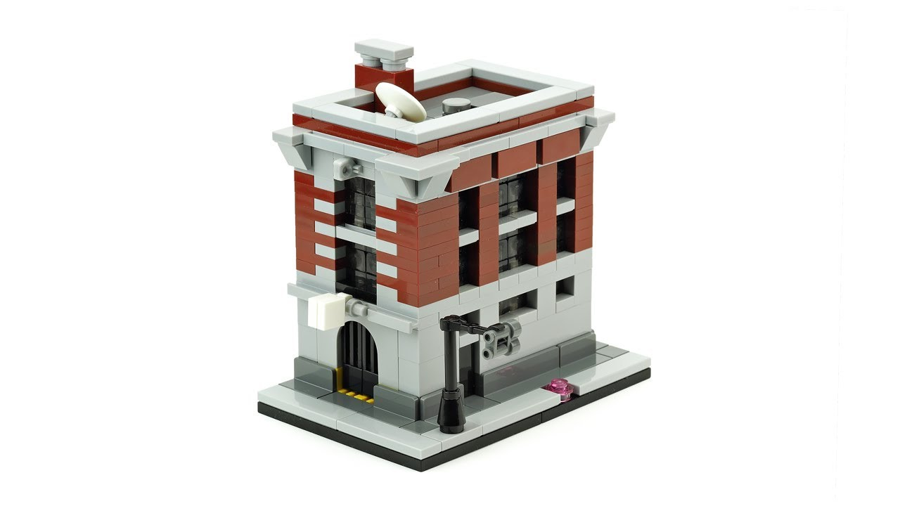 Lego ghostbusters house instructions
