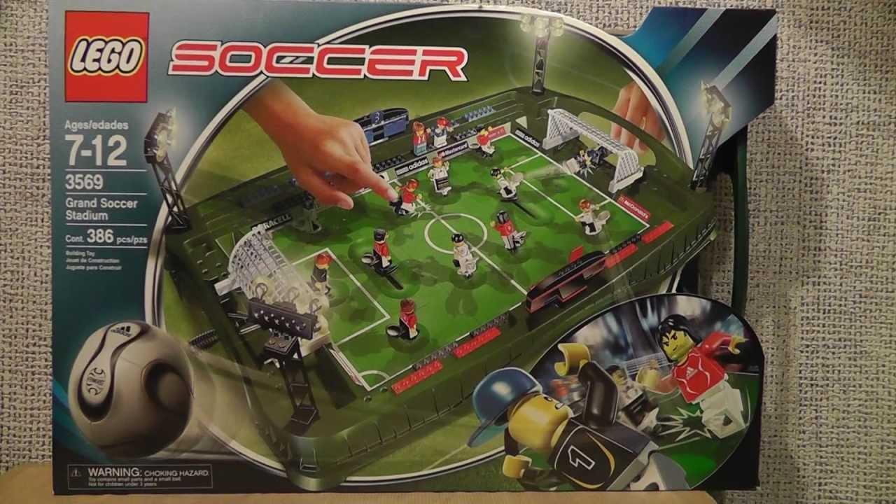 Lego football youtube video