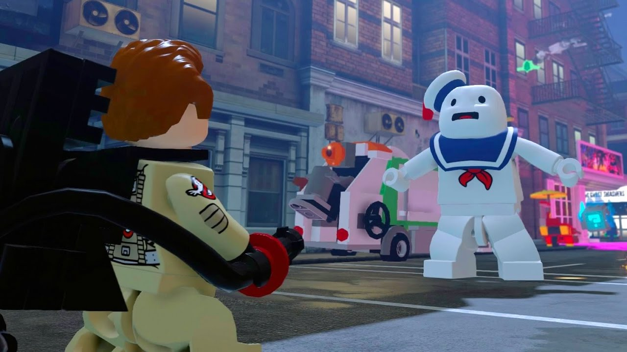 Lego ghostbusters youtube videos