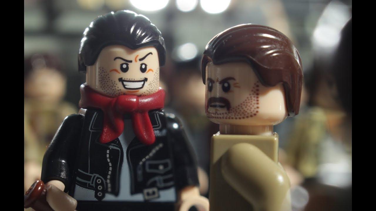 Lego gta 5 stop motion