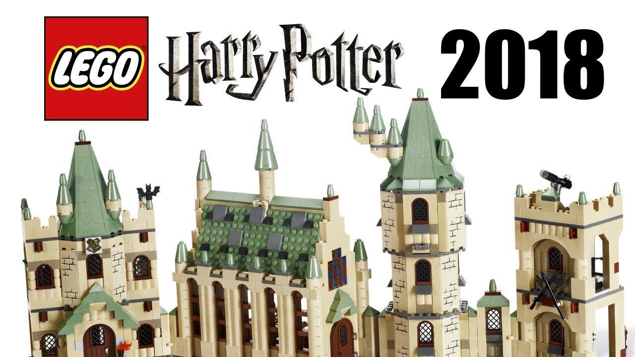 Lego harry potter new hogwarts castle